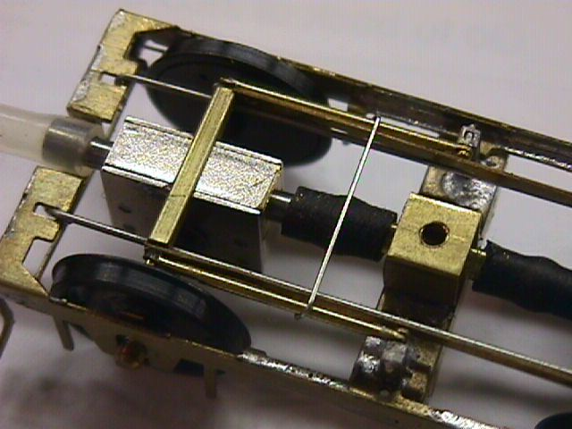 Exactoscale gearbox fitted bogie