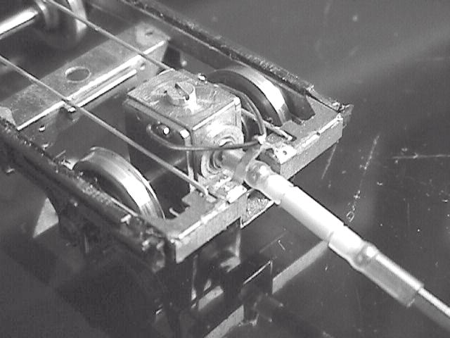 Ultrascale gearbox fitted bogie, with experimental torque reaction loop