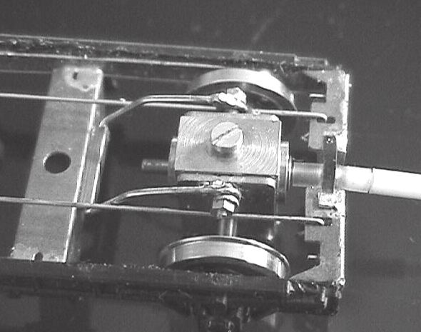 More robust design of torque reaction loop, attached to the bogie's central bolster