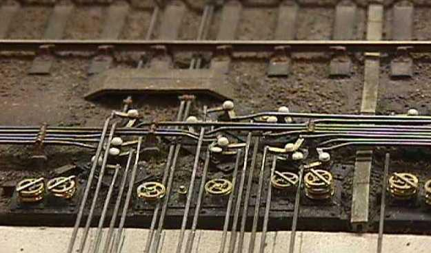 point rodding and signal pulleys wiring model railroad buildings wiring model railroad turnouts